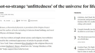 The not-so-strange 'unfittedness' of the universe for life