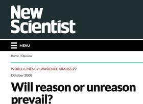 Will Reason or Unreason Prevail?