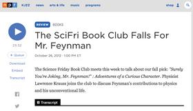 The SciFri Book Club Falls For Mr. Feynman