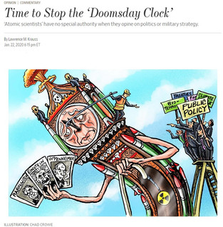 Time to Stop the 'Doomsday Clock'