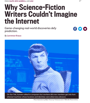 Why Science-fiction Writers Couldn't Imagine the Internet