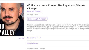 David C. Smalley #517 with Lawrence Krauss