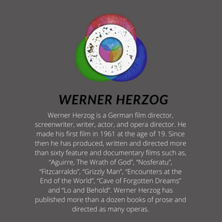 Werner Herzog on this week's The Origins Podcast with Lawrence Krauss