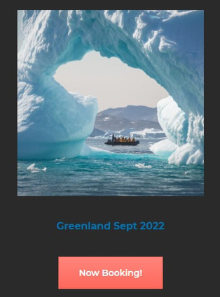 Origins Project Foundation announces the 2022 voyage to Greenland and Iceland