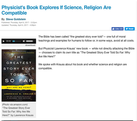 Physicist's Book Explores If Science, Religion Are Compatible