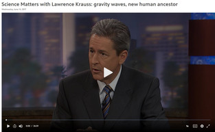 Science Matters with Lawrence Krauss for June