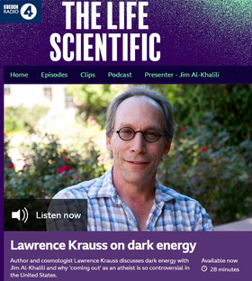 Lawrence Krauss on dark energy