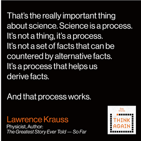 Lawrence Krauss – Lux Ex Machina – Think Again Podcast #98