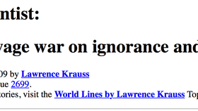 How to wage war on ignorance and poverty