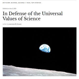 In Defense of the Universal Values of Science