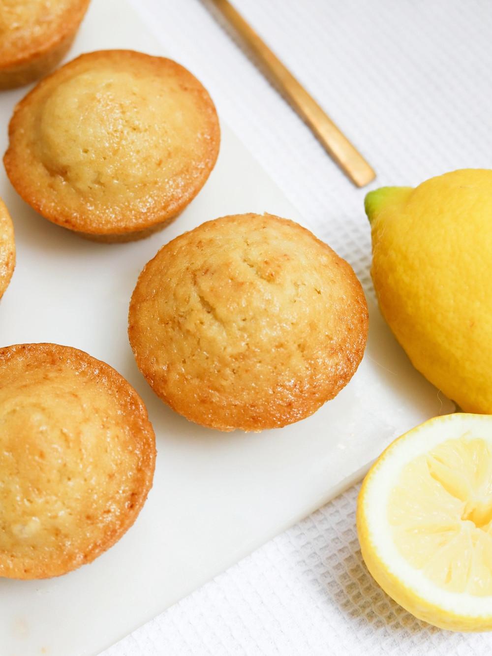 Muffins Vegan de Limão