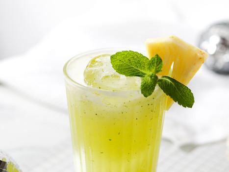 Cocktail de Ananás, Coco e Tequila