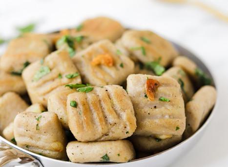 Gnocchis Vegan e Sem Glúten