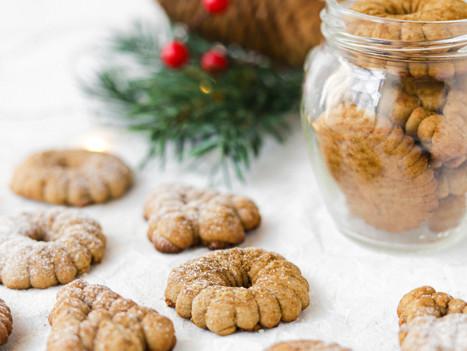 Bolachas de Natal com Canela e Gengibre - Vegan e Sem Glúten