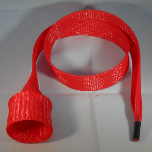 Red Spinning Rod Cover