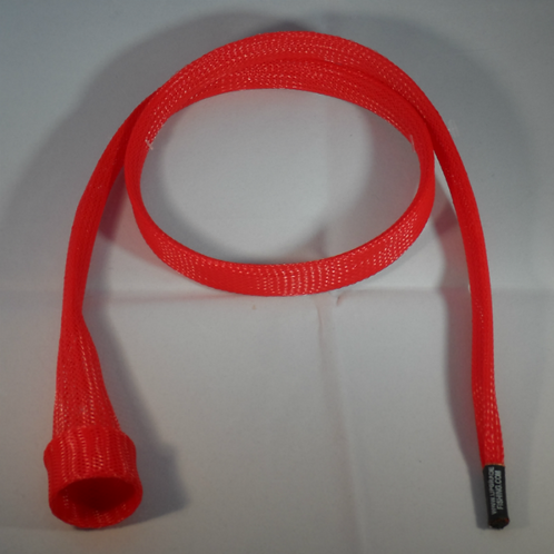 Red Casting Rod Cover