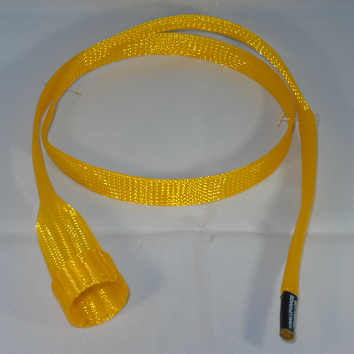 Yellow Casting Rod Cover