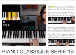 Série: cours classique 1 B