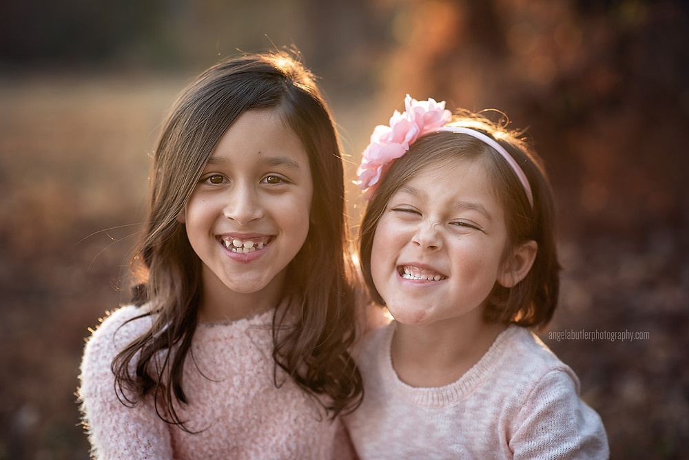 A candid photography of our girls who love to have their photos taken.
