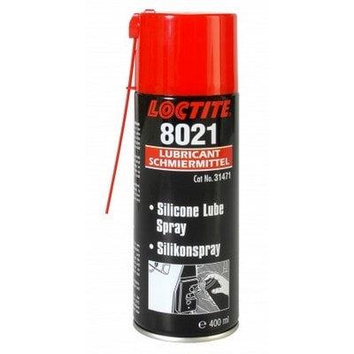 """לוקטייט 8021 - ספריי שימון סיליקוני, 400 מ""""ל"""