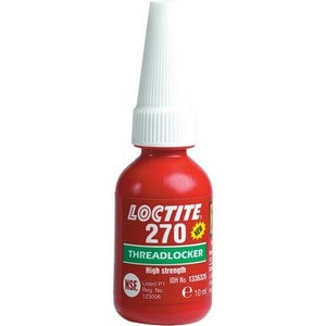 """לוקטייט 270 - דבק נועל תבריגים, עוצמה גבוהה, 10 מ""""ל"""