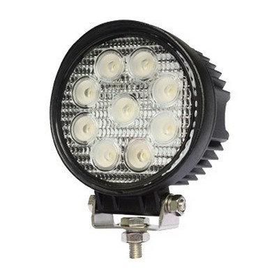 פנס עבודה 9 לד , 27W LED עגול