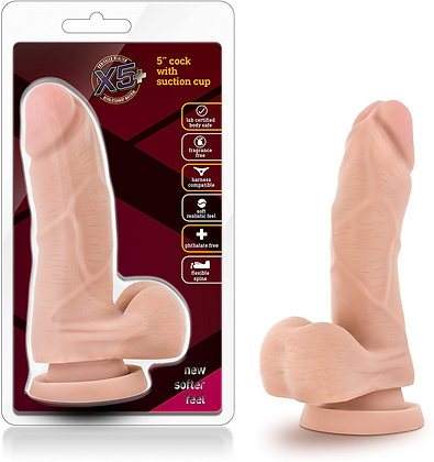 X5 Cock with suction cup
