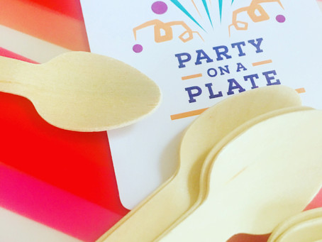 #Go Green with Party On A Plate