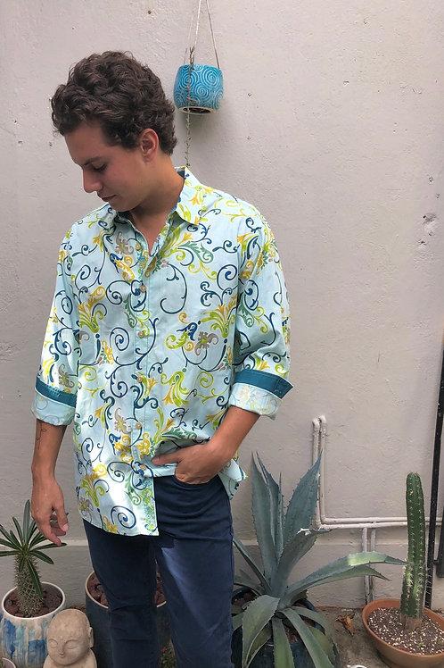 tommy bahama long sleeve print shirt
