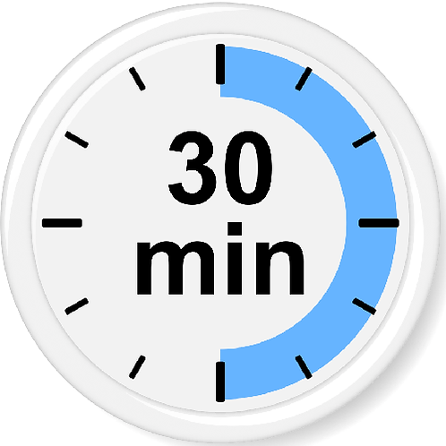 Extra Party Time (30 minutes blocks, if available)