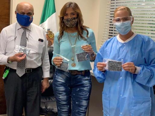 Proyecto entrega mascarillas Casa de Mexico Orlando