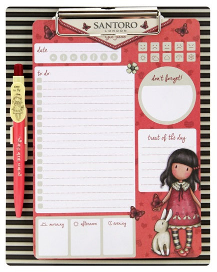 Magnetic Clipboard & Pen Set #2