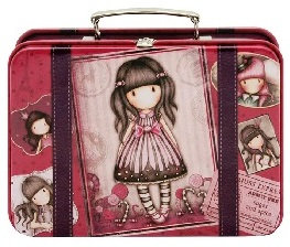 Suitcase Tin