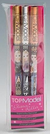 Top Model Metallic Gel Pen Set