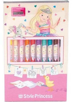 Princess Pencil Set Colours