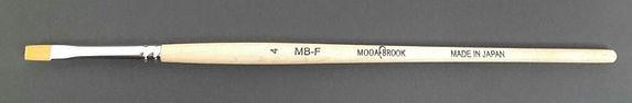 Mogabrook Gel Brush #4 Flat
