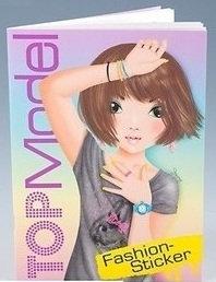 Top Model Sticker Book #1