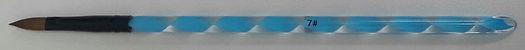 Acrylic Brush Blue #7 Flat