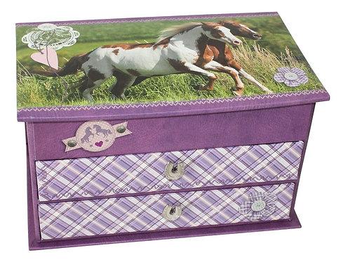 Horses Jewellery Box