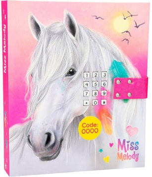 Miss Melody Diary with Code & Sound