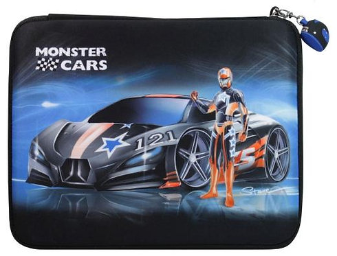 Monster Cars Pencil Case Big #1