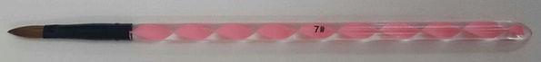 Acrylic Brush Pink #7 Flat