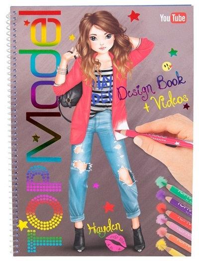 Top Model Design Book & Video #1