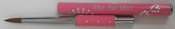 Acrylic Brush Pink #6 Round