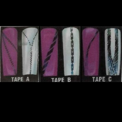 Striping Tape Patterns