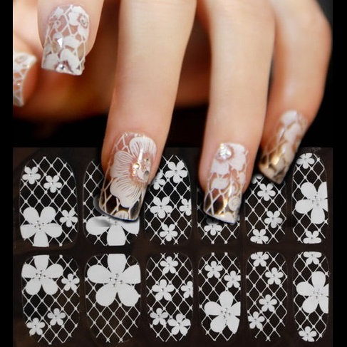 Lace Nail-Art Stickers