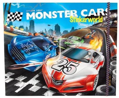 Monster Cars Stickerworld #1