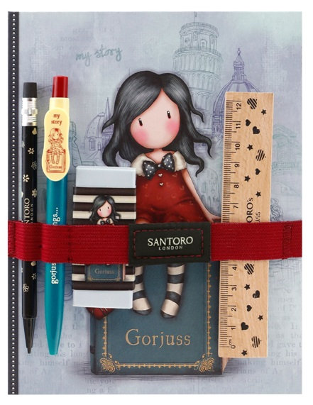 Notebook with Stationery Set #2