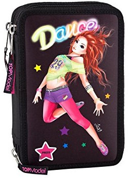 Top Model Pencil Case Triple Dance + LED 1