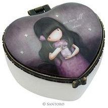 Heart Ceramic Trinket Box Big